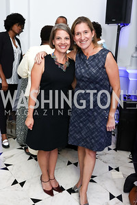 Amy Selco, Mieka Wick. Photo by Tony Powell. 2017 DC Ed Fund 10 Year Anniversary Dinner. Renwick Gallery. October 5, 2017