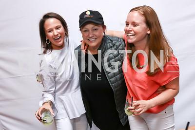 Jennifer Nobil, Lizette Corro, Sasha Dutton. Photo by Tony Powell. 2017 Dine-N-Dash. June 7, 2017