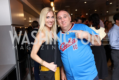 Amanda Chadwick, Jose Andres. Photo by Tony Powell. 2017 Dine-N-Dash. June 7, 2017