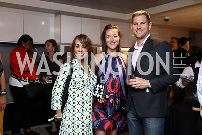 La Cocina VA Founder and CEO Paty Funegra, Kate Weschler, Nick Freshman. Photo by Tony Powell. 2017 Dine-N-Dash. June 7, 2017