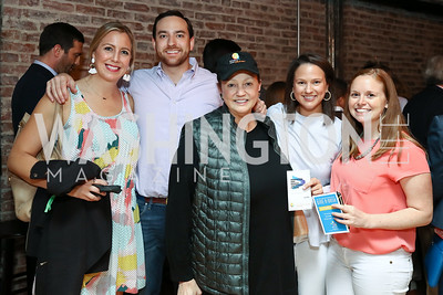 Ashley Martens, Jonathan Nobil, Lizette Corro, Jennifer Nobil, Sasha Dutton. Photo by Tony Powell. 2017 Dine-N-Dash. June 7, 2017