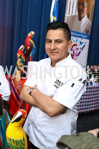 Ecuador Chef Victor Pucha. Photo by Tony Powell. 2017 Embassy Chefs Challenge. Reagan Building. May 24, 2017