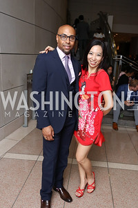 Erik Moses, Wuiping Yap. Photo by Tony Powell. 2017 Embassy Chefs Challenge. Reagan Building. May 24, 2017