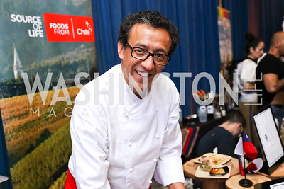 Chile Chef Guillermo Muñoz. Photo by Tony Powell. 2017 Embassy Chefs Challenge. Reagan Building. May 24, 2017