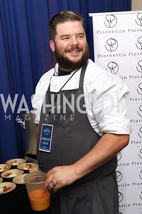 Belgium Chef Jan van Haute. Photo by Tony Powell. 2017 Embassy Chefs Challenge. Reagan Building. May 24, 2017