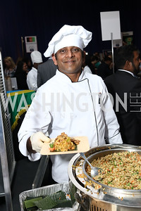 Sri Lanka Chef Anuradha Wijesinghe. Photo by Tony Powell. 2017 Embassy Chefs Challenge. Reagan Building. May 24, 2017