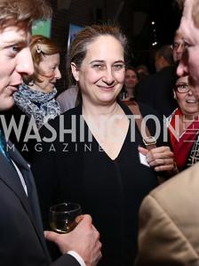 Grace Guggenheim. Photo by Tony Powell. EFF 25th Anniversary. Embassy of New Zealand. February 16, 2017