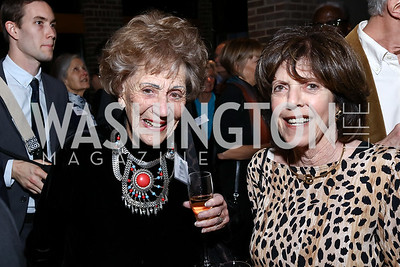 Marie Ridder, Didi Cutler. Photo by Tony Powell. EFF 25th Anniversary. Embassy of New Zealand. February 16, 2017