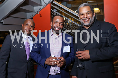 Todd Jones, Aaron Wade, Robert Faison. Photo by Tony Powell. 2017 Fair Chance Honors. Studio Theatre. April 24, 2017