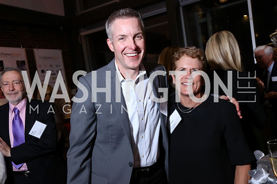 Ted Kubit, Jane Korhonen. Photo by Tony Powell. 2017 Fair Chance Honors. Studio Theatre. April 24, 2017