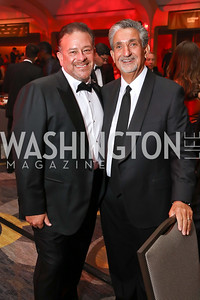 Raul Fernandez, Ted Leonsis. Photo by Tony Powell. 2017 Fight Night. Washington Hilton. November 2, 2017