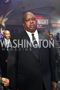 Boxer Buster Douglas. Photo by Tony Powell. 2017 Fight Night. Washington Hilton. November 2, 2017
