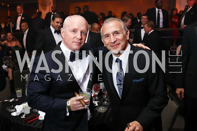 "Todd Hitt, Ray ""Boom Boom"" Mancini. Photo by Tony Powell. 2017 Fight Night. Washington Hilton. November 2, 2017"