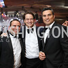 Khaled Rabbani, Brad Nierenberg, Doug Kammerer. Photo by Tony Powell. 2017 Fight Night. Washington Hilton. November 2, 2017