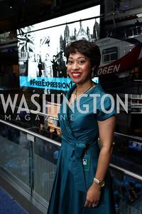 Sonya Gavankar. Photo by Tony Powell. 2017 Free Expression Awards. Newseum. April 18, 2017