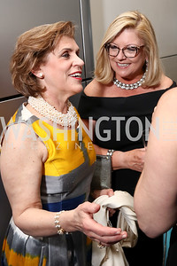 Joan Steel, Gloria Dittus. Photo by Tony Powell. 2017 Free Expression Awards. Newseum. April 18, 2017