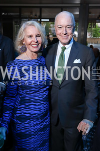 Sally Quinn, David Bradley. Photo by Tony Powell. 2017 Free Expression Awards. Newseum. April 18, 2017