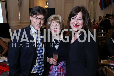 Joel Friedman, Bitsey Folger, Jenny Bilfield. Photo by Tony Powell. 2017 GALA Hispanic Theatre Gala. OAS. June 5, 2017