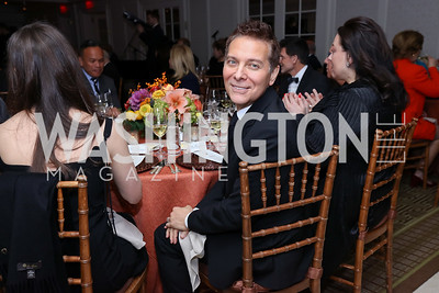 Michael Feinstein. Photo by Tony Powell. 2017 Gershwin Prize Dinner. Hay Adams. November 14, 2017