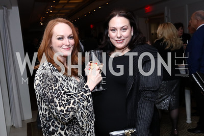 Antonia and Johanna Bennett. Photo by Tony Powell. 2017 Gershwin Prize Dinner. Hay Adams. November 14, 2017