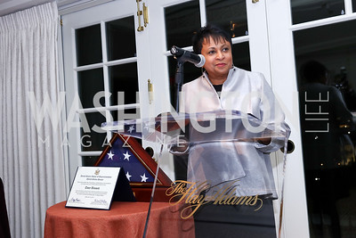 Librarian Carla Hayden. Photo by Tony Powell. 2017 Gershwin Prize Dinner. Hay Adams. November 14, 2017