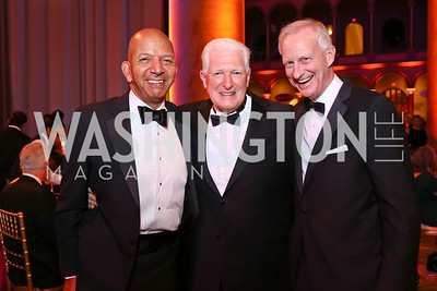 Tony Williams, Jim Moran, Jack Evans. Photo by Tony Powell. 2017 Harman Center Gala. Building Museum. October 15, 2017
