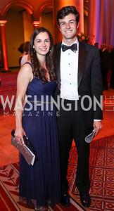 Adriana Smith, Tom Longano. Photo by Tony Powell. 2017 Harman Center Gala. Building Museum. October 15, 2017