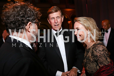 Rep. Don Beyer and Megan Beyer. Photo by Tony Powell. 2017 Harman Center Gala. Building Museum. October 15, 2017