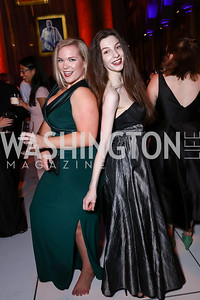 Julie Ratcliffe, Ann Lipscombe. Photo by Tony Powell. 2017 Harman Center Gala. Building Museum. October 15, 2017