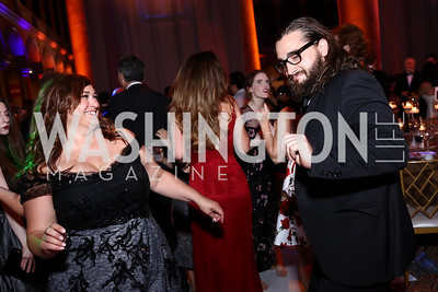 Stefanie Erkiletian, Mason Arthur. Photo by Tony Powell. 2017 Harman Center Gala. Building Museum. October 15, 2017