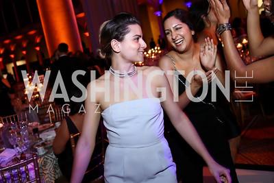 Daven Ralston, Kimberly Chatterjee. Photo by Tony Powell. 2017 Harman Center Gala. Building Museum. October 15, 2017