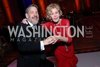Chris Jennings, Ann Nitze. Photo by Tony Powell. 2017 Harman Center Gala. Building Museum. October 15, 2017