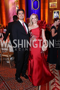 Joe Nucci, Karen Wawrzaszek. Photo by Tony Powell. 2017 Harman Center Gala. Building Museum. October 15, 2017
