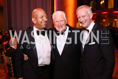 Tony Williams, Jim Moran, Jack Evans. Photo by Tony Powell. 2017 Harman Center Gala. Building Museum. October 15, 2017