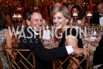 Neil and Marcy Cohen. Photo by Tony Powell. 2017 Harman Center Gala. Building Museum. October 15, 2017