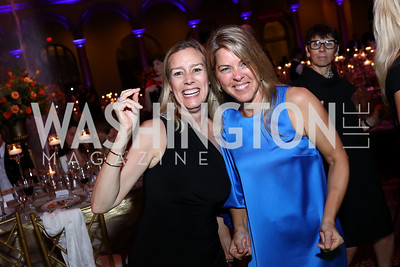 Ann Goettman, Suzanne Youngkin. Photo by Tony Powell. 2017 Harman Center Gala. Building Museum. October 15, 2017