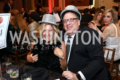 Margie and Mitch Halem. Photo by Tony Powell. 2017 Heart Ball. Mandarin Oriental. February 25, 2017