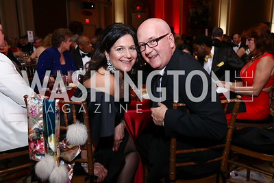 Regina and Roger James. Photo by Tony Powell. 2017 Heart Ball. Mandarin Oriental. February 25, 2017