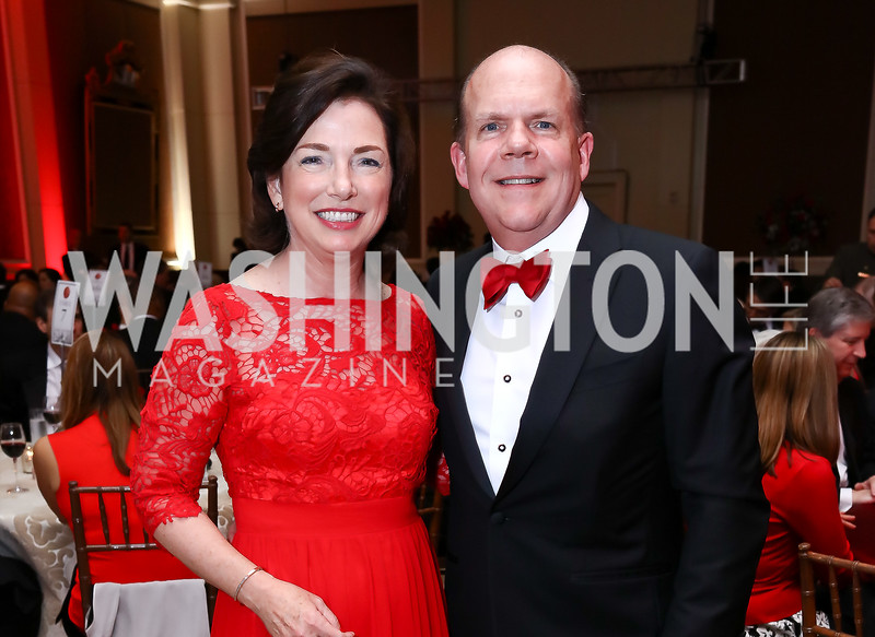 Heart Ball Chairs Barbara and David Humpton. Photo by Tony Powell. 2017 Heart Ball. Mandarin Oriental. February 25, 2017
