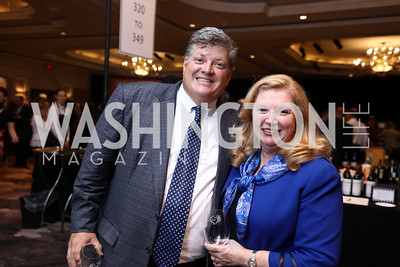 Kent Knutson, Norma Kaehler. Photo by Tony Powell. 2017 Heart's Delight. Ritz Carlton. May 13, 2017