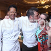 Ritz Carlton Executive Chef Yves Samake, Masseria Owner and Executive Chef Nicholas Stefanelli, Annie Boutin King. Photo by Tony Powell. 2017 Heart's Delight. Ritz Carlton. May 13, 2017