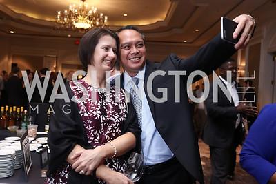 Jill and Paul Andres. Photo by Tony Powell. 2017 Heart's Delight. Ritz Carlton. May 13, 2017