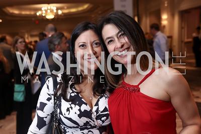 Jessica Miller, Angela Fox. Photo by Tony Powell. 2017 Heart's Delight. Ritz Carlton. May 13, 2017