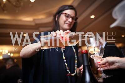 Tres Sabores Owner and Winemaker Julie Johnson. Photo by Tony Powell. 2017 Heart's Delight. Ritz Carlton. May 13, 2017