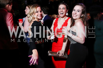 Rachel Dolan, Emily Madden, Kristina Erwin. Photo by Tony Powell. 2017 Helen Hayes Awards After Party. 930 Club. May 15, 2017
