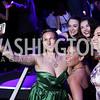 Coby Kay Callahan, Holly Kelly, Allie O'Donnell, Santina Maiolatesi, Julia Lancione. Photo by Tony Powell. 2017 Helen Hayes Awards After Party. 930 Club. May 15, 2017