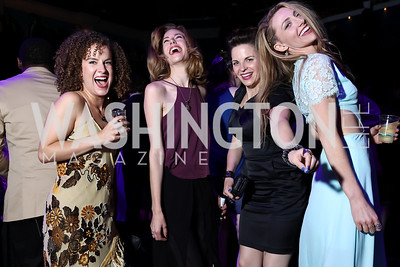 Suzanne Lane, Katrina Clark, Kimberly Gilbert, Amanda Forstrom. Photo by Tony Powell. 2017 Helen Hayes Awards After Party. 930 Club. May 15, 2017