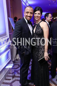 Ryan and Genee Hayes. Photo by Tony Powell. 2017 Heroes Curing Childhood Cancer Gala. Ritz Carlton. February 25, 2017