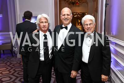 Tim Davis, Dave Dorros, Floyd Davis. Photo by Tony Powell. 2017 Heroes Curing Childhood Cancer Gala. Ritz Carlton. February 25, 2017