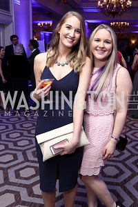 Meaghan Williams, Maca Basanes. Photo by Tony Powell. 2017 Heroes Curing Childhood Cancer Gala. Ritz Carlton. February 25, 2017